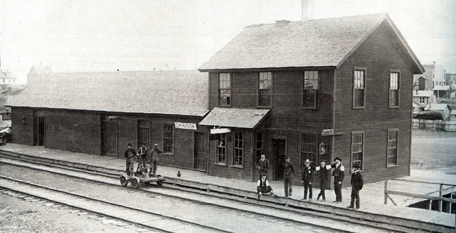 Chinook's Train Depot